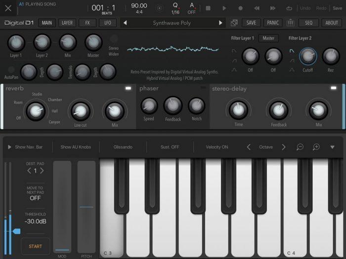 AudioKit Digital D1 BeatMaker 3 AUv3