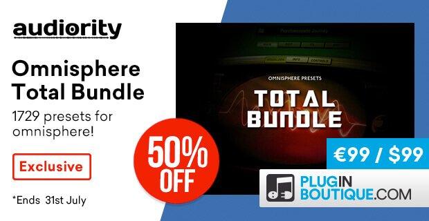 Audiority Omnisphere Total Bundle 50 OFF
