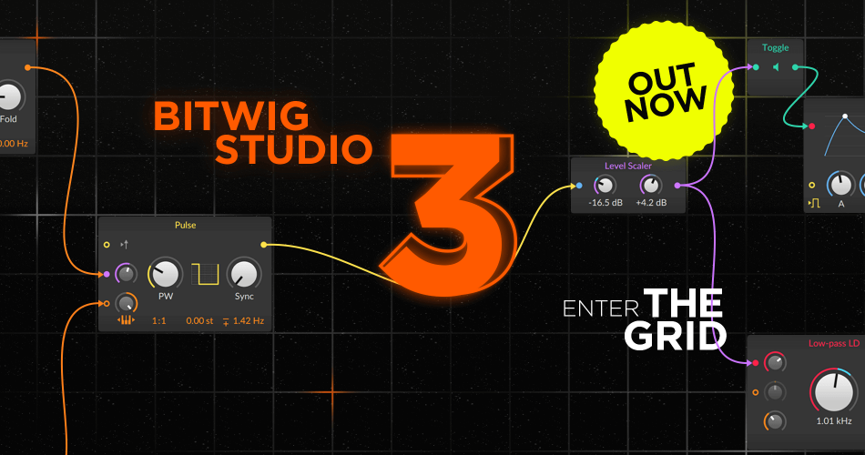 Bitwig Studio 3 out now