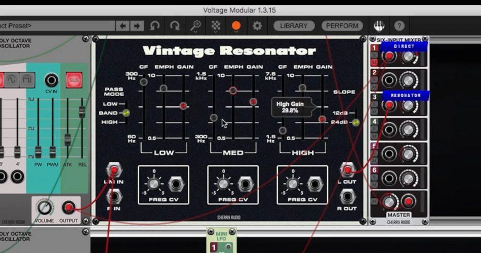Cherry Audio Vintage Resonator