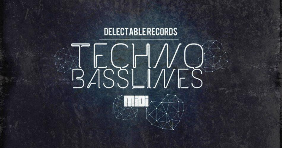 Delectable Records Techno Basslines MIDI