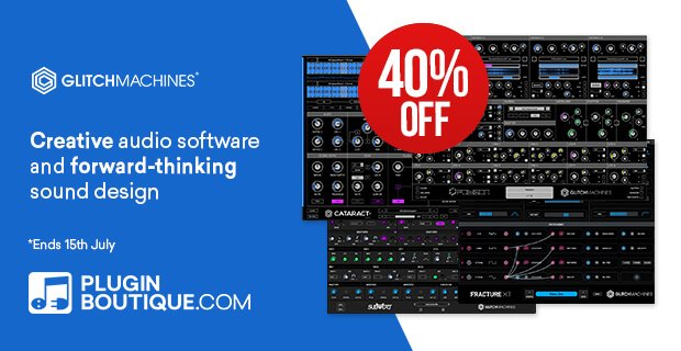 Glitchmachines Summer Sale 2019