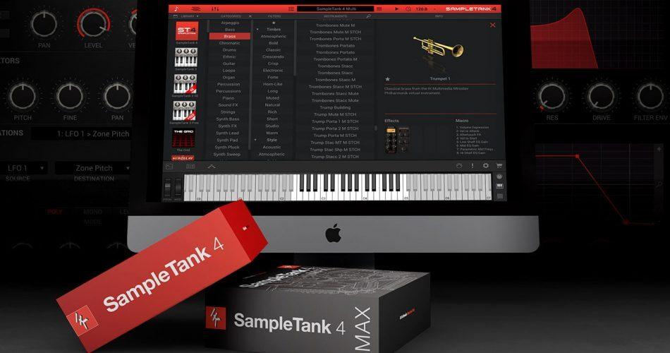 IK Multimedia SampleTank 4.0.5 update