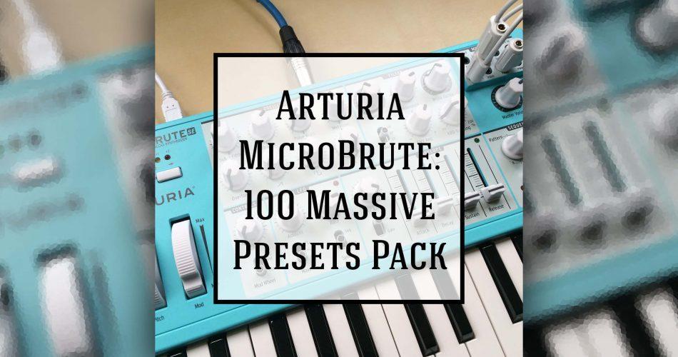 LFO Store Arturia MicroBrute 100 Massive Presets Pack