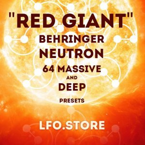 LFO Store Red Giant Behringer Neutron soundset