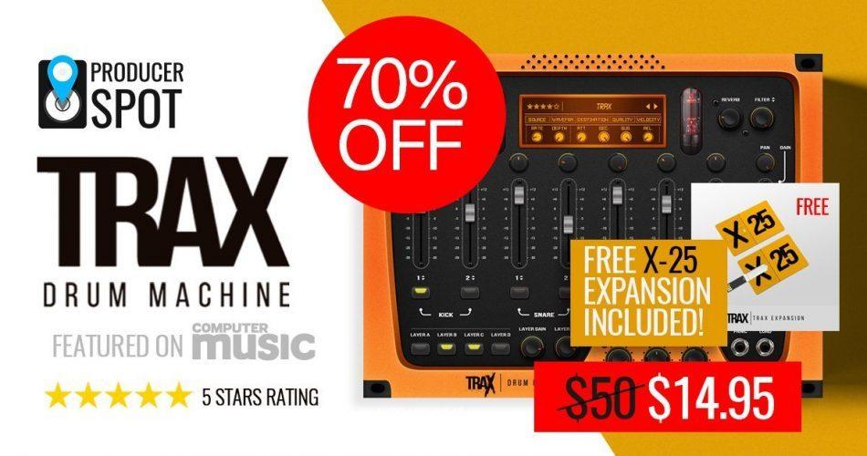 ProducerSpot Trax Drum Machine 70 OFF