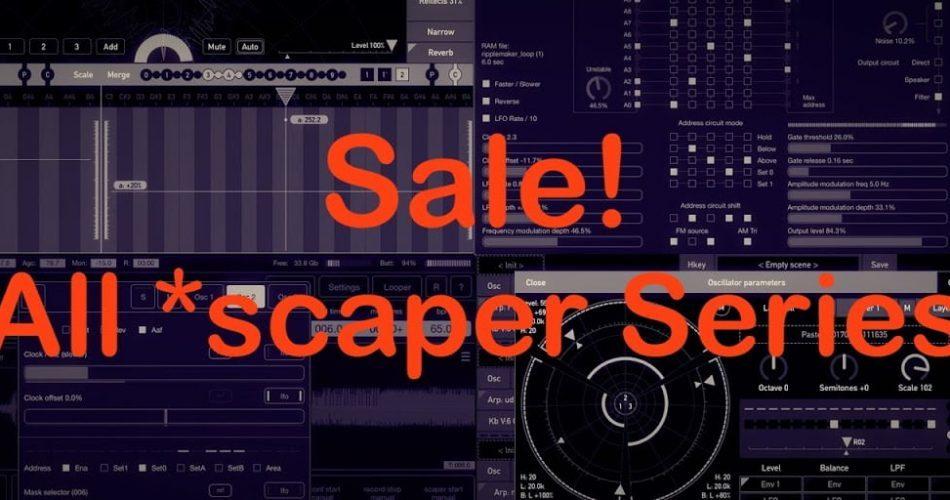 Scaper series sale