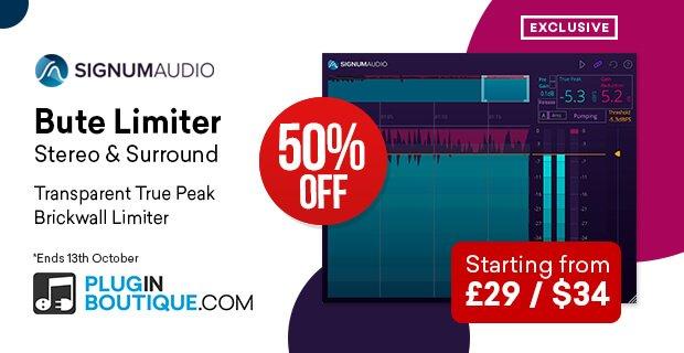 Signum Audio Bute Limiter 50% OFF