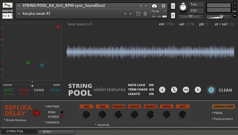 Sound Dust StringPool