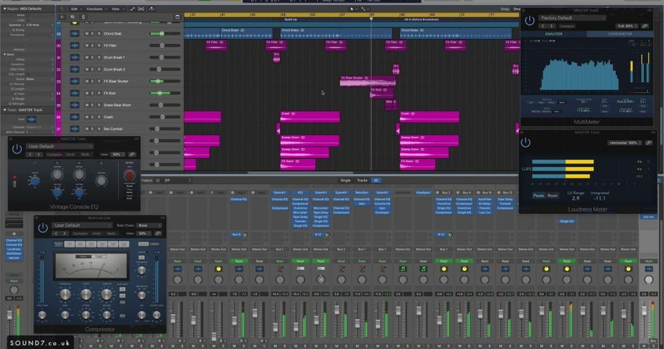 Sound7 Driving Trance Starting Temlate for Logic Pro X