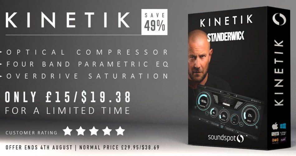 SoundSpot Kinetik 19 USD