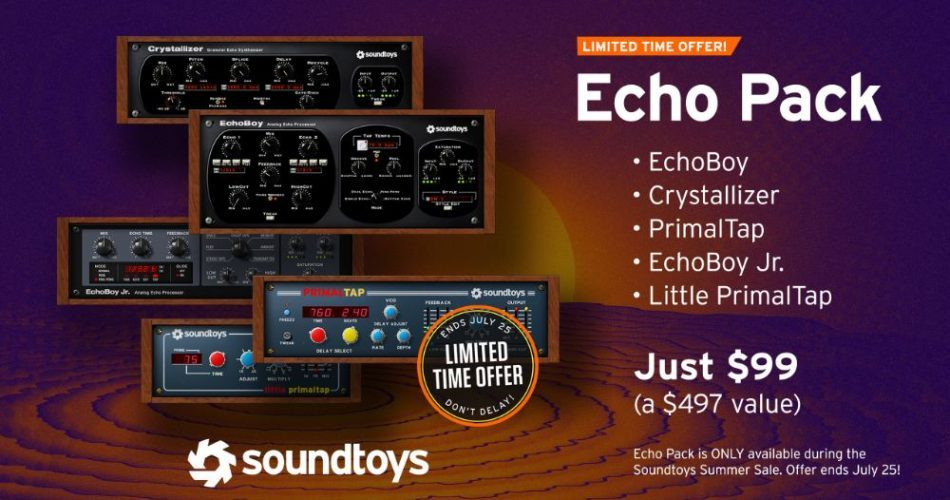 Soundtoys Echo Pack Bundle
