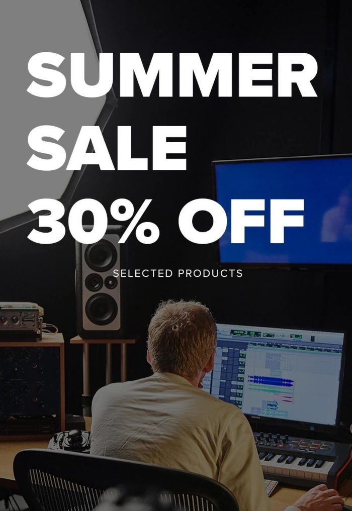 Spitfire Audio Summer Sale 30% OFF