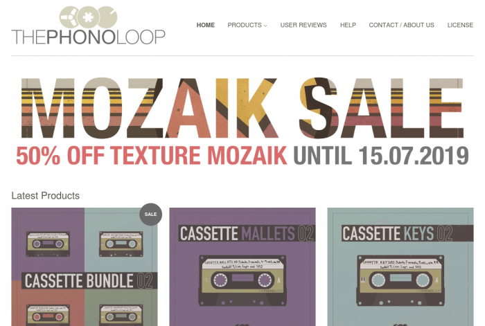 THEPHONOLOOP Mozaik Sale