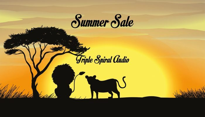 Triple Spiral Audio Summer Sale 2019