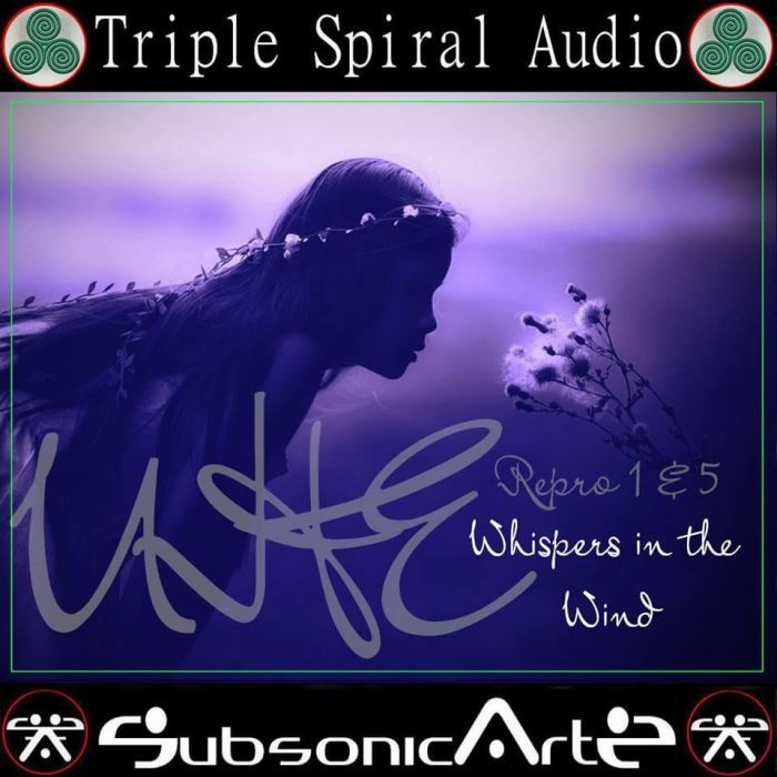 Triple Spiral Audio Whispers in the Wind