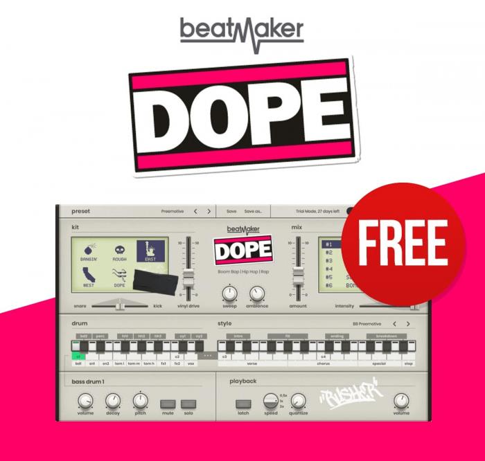 UJAM Beatmaker Dope FREE