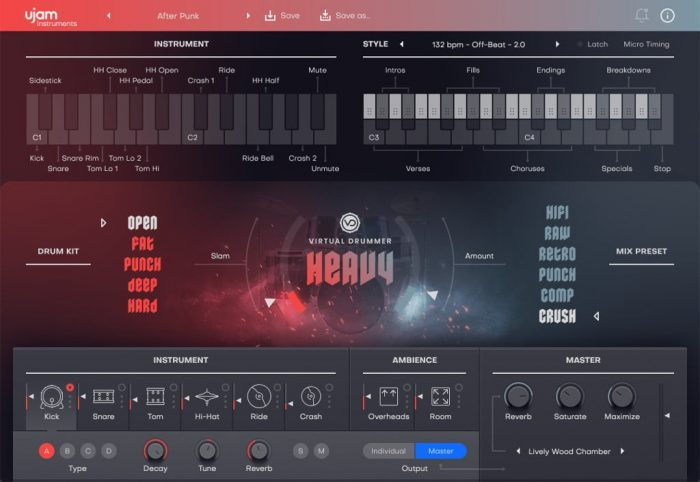 UJAM Virtual Drummer 2 HEAVY