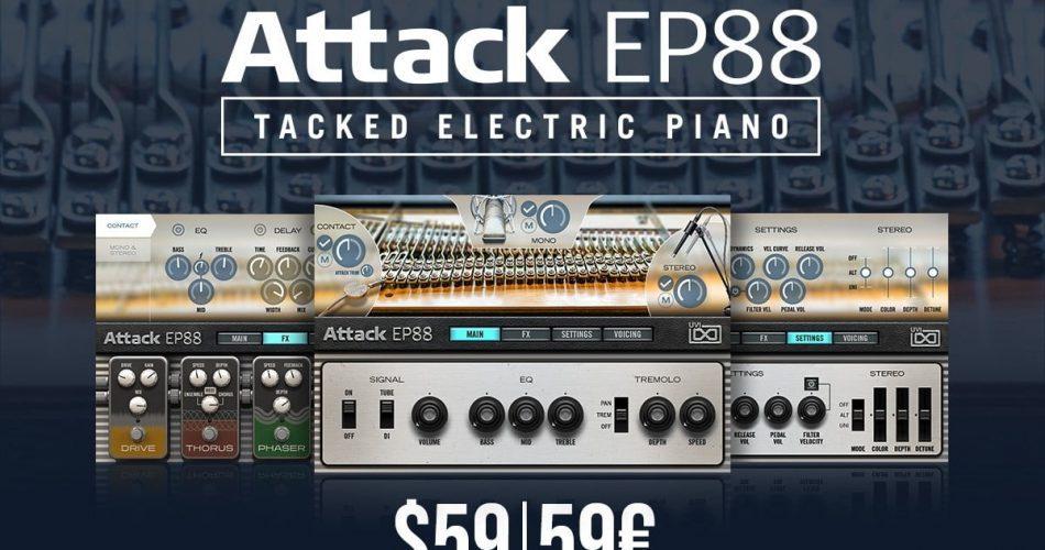 UVI Attack EP88 Sale 60 OFF