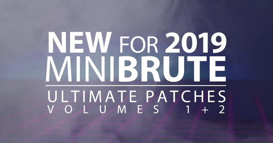 Ultimate Patches Arturia Minibrute Vol 1 and 2
