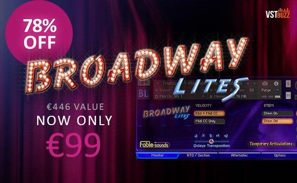VST Buzz Broadway Lites 99 EUR