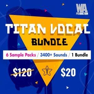 WA Production Titan Vocals Bundle 6 for 20 USD