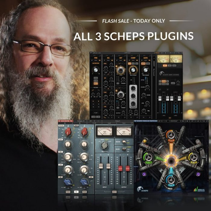 Waves Audio Scheps Plugins Flash Sale