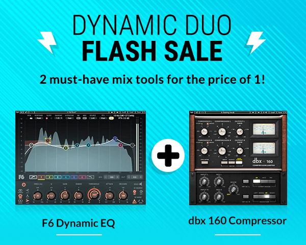Waves Dynamic Duo Flash Sale