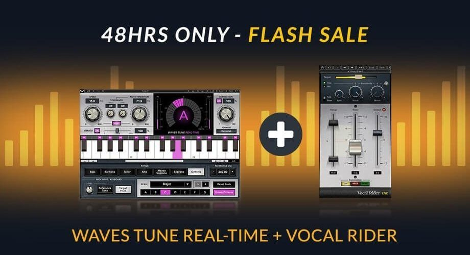 Waves Tune Real Time + Vocal Rider