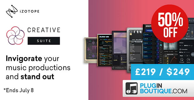 iZotope Creative Suite 50 OFF