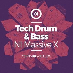 5Pin Media Tech Drum & Bass for Massive X