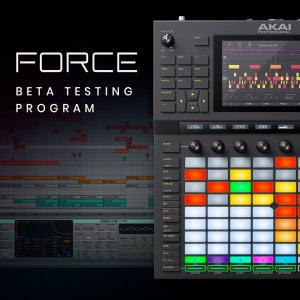 Akai Pro Force Beta Program