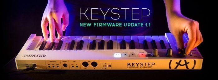 Arturia Keystep 1.1 firmware
