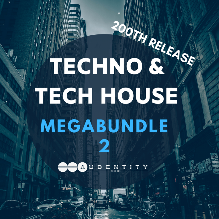Audentity Records Techno Tech House Mega Bundle 2