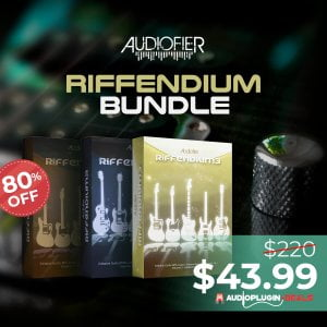 Audio Plugin Deals Audiofier Riffendium Bundle
