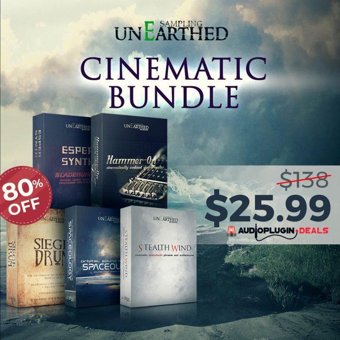 Audio Plugin Deals unEarthed Cinematic Bundle