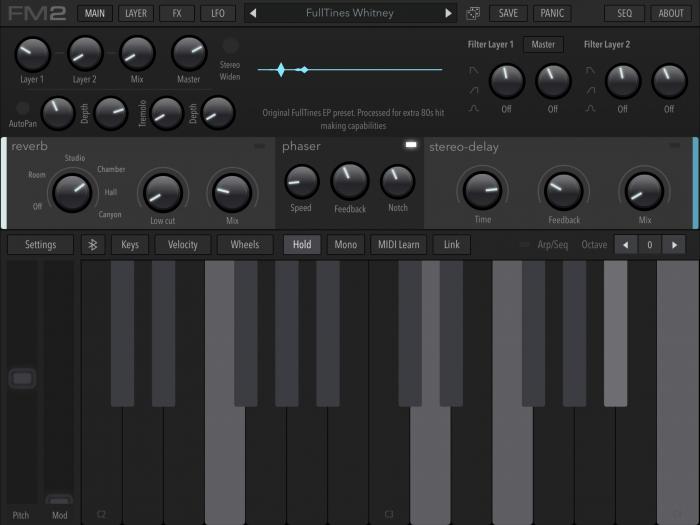 AudioKit Pro FM Synth 2