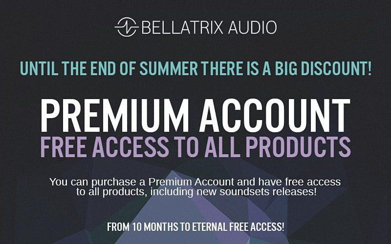 Bellatrix Audio Premium Subscription