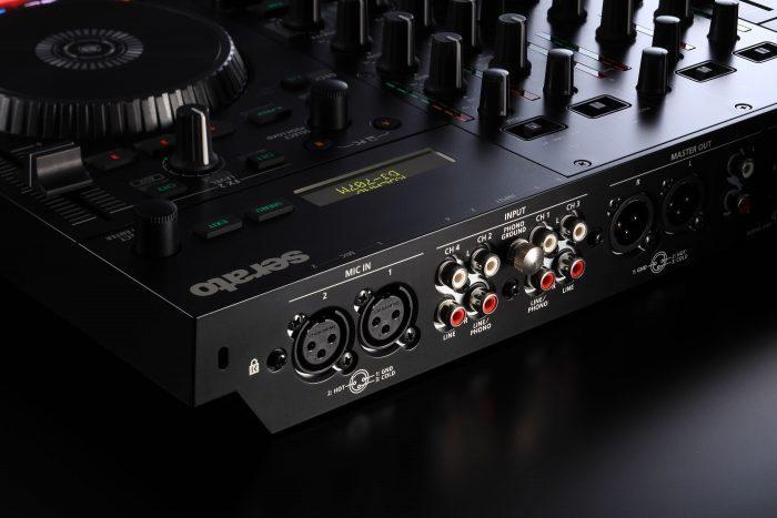 DJ707M mic in