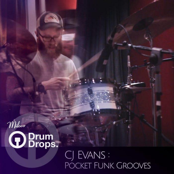 Drumdrops CJ Evans Pocket Funk Grooves