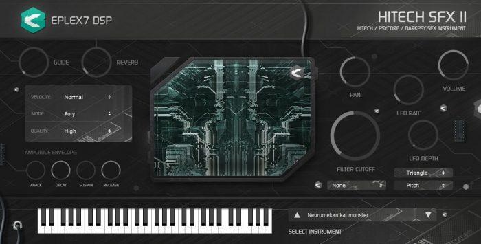 Eplex7 Hitech SFX2 plug in instrument