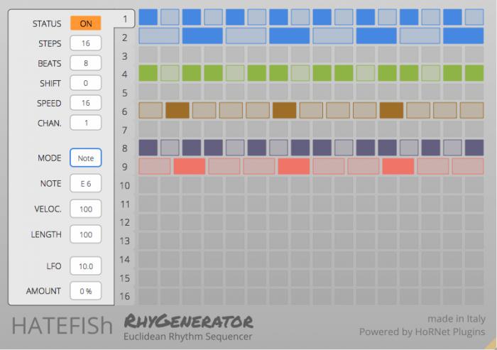 HoRNet Plugins Hatefish RhyGenerator 1.1