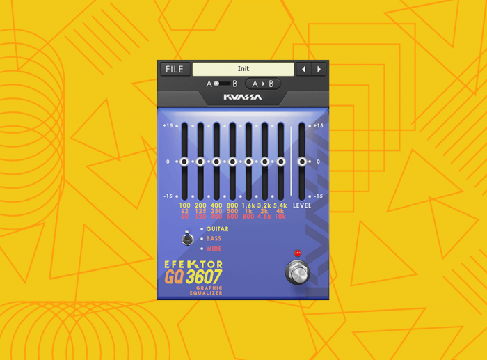 Kuassa Efektor GQ3607 Graphic Equalizer