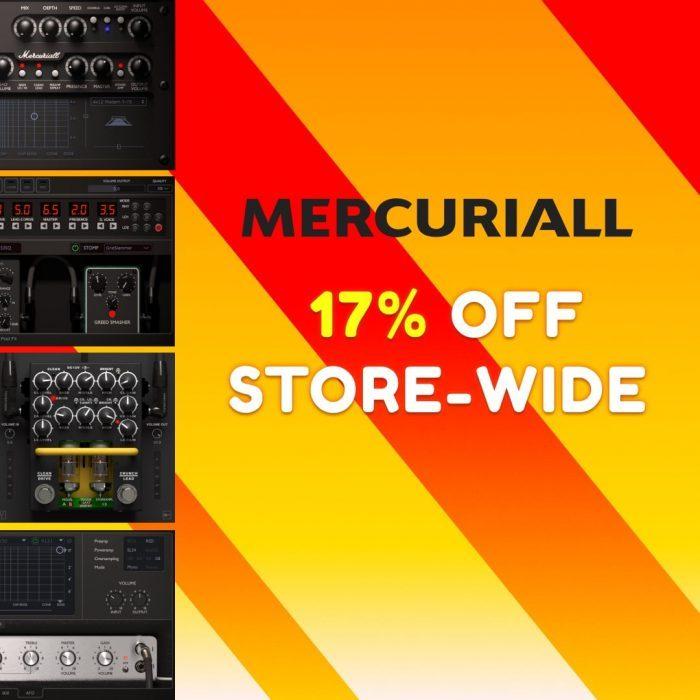 Mercuriall Audio 17 OFF August