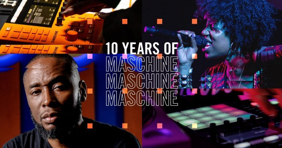 NI 10 years of Maschine