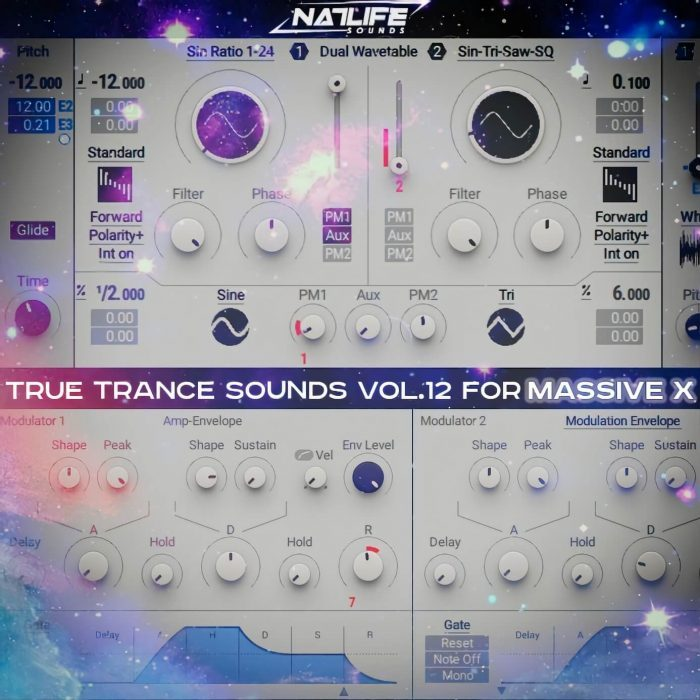 NatLife Sounds True Trance Sounds Vol 12 for Massive X