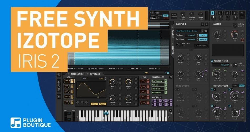 Plugin Boutique Iris 2 FREE