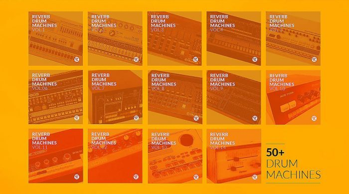 Reverb 50 Drum Machines Collection
