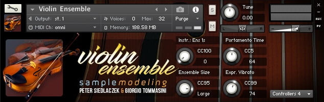 Samplemodeling Strings Violin Ensemble