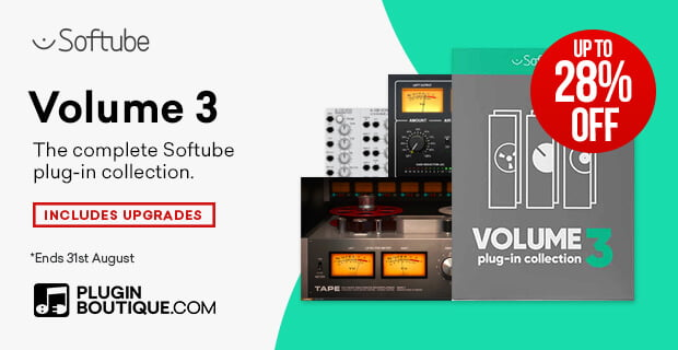 Softube Volume 3 sale